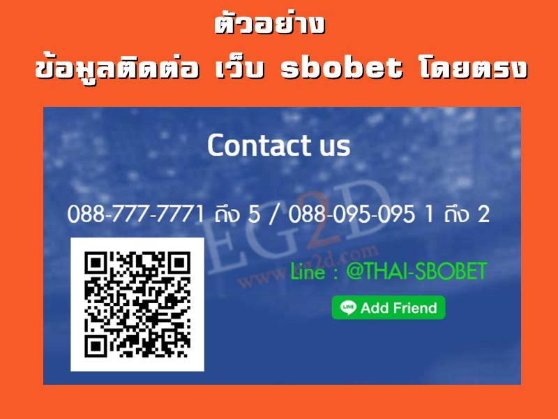 contact sbobet